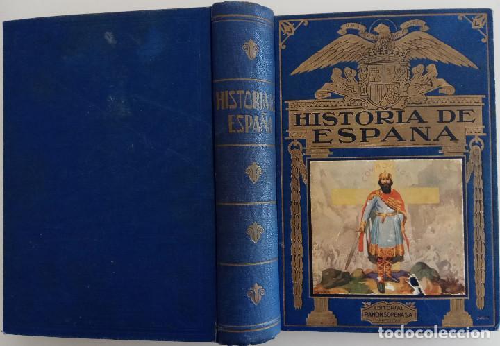 Libros de segunda mano: HISTORIA DE ESPAÑA - POR AGUSTÍN BLÁNQUEZ FRAILE -EDITORIAL RAMÓN SOPERA - AÑO 1943 - Foto 2 - 168605504