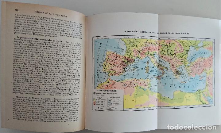 Libros de segunda mano: HISTORIA DE LA CIVILIZACIÓN - POR EDGAR SANDERSON - EDITORIAL RAMÓN SOPERA - AÑO 1942 - Foto 3 - 168610532