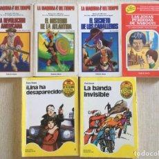 Libros de segunda mano: LOTAZO LIBROS JUVENILES TIMUN MAS ELIGE AVENTURA - DETECTILIBRO - LA MÁQUINA DEL TIEMPO. Lote 168610688