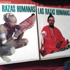 Libros de segunda mano: LAS RAZAS HUMANAS - 2 TOMOS. UNDECIMA EDICIÓN 1976 INSTITUTO GALLACH. Lote 168646772