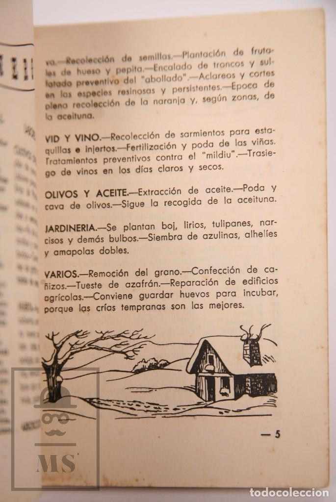 Libros de segunda mano: Libro Pequeña Guía del Agricultor - Servicios Agronómicos del Nitrato de Chile, 1951 - Foto 7 - 168670016