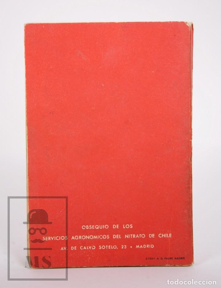 Libros de segunda mano: Libro Pequeña Guía del Agricultor - Servicios Agronómicos del Nitrato de Chile, 1951 - Foto 8 - 168670016