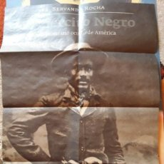 Libros de segunda mano: PÓSTER LA FELGUERA EDITORES (40 X 55 APROX) SERVANDO ROCHA - EL EJÉRCITO NEGRO. Lote 168700528
