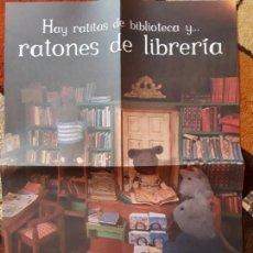 Libros de segunda mano: PÓSTER BLACKIE BOOKS LA CASA DE LOS RATONES (40 X 55 APROX). Lote 168700756
