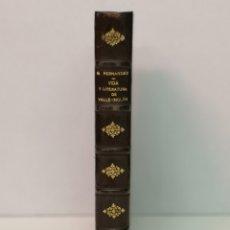 Livres d'occasion: VIDA Y LITERATURA DE VALLE-INCLÁN, EDITORA NACIONAL MADRID, MCMXLIII (1943). Lote 168705784