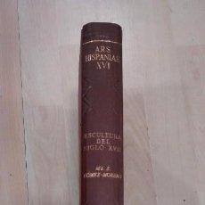 Libros de segunda mano: 'ARS HISPANIAE. ESCULTURA DEL SIGLO XVII'. VOL. XVI. Lote 168731052
