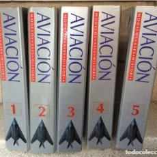 Libros de segunda mano: AVIACIÓN : MODELOS, ASES, HISTORIA. 5 ARCHIVADORES. BARCELONA: RBA, 1998.. Lote 168732764