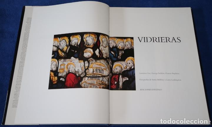 Libros de segunda mano: Vidrieras - Lawrence Lee - George Seddon - Francis Stephens - Ediciones Destino (1987) - Foto 3 - 168743828