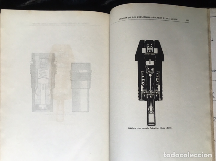Libros de segunda mano: QUÍMICA DE LOS EXPLOSIVOS - EZAMA SANCHO - ILUSTRADO - Foto 8 - 168756712