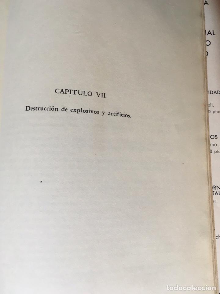 Libros de segunda mano: QUÍMICA DE LOS EXPLOSIVOS - EZAMA SANCHO - ILUSTRADO - Foto 10 - 168756712