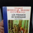 Libros de segunda mano: LOS PARAMOS DE NORDMAAR 16 TIMUN MAS AVANCED DUNGEONS DRAGONS LIBROJUEGO SIN FICHA. Lote 168808152