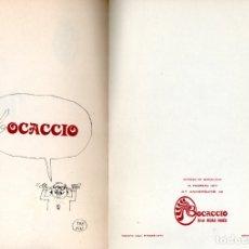 Libros de segunda mano: SAN PERICH HUMORISTA Y MÁRTIR (4ª ANIVERSARIO DE BOCACCIO, 1971) PRÓLOGO DE JOAN DE SAGARRA. Lote 168810732