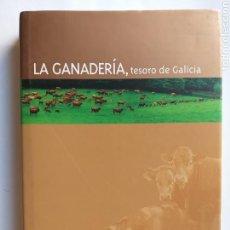 Libros de segunda mano: TEMAS GALLEGOS . LA GANADERÍA TESORO DE GALICIA. Lote 168780200