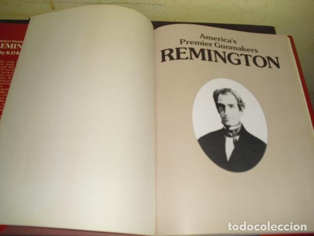 Libros de segunda mano: REMINGTON - AMERICA´S PREMIER GUNMAKERS - 1988 - - Foto 2 - 168841356