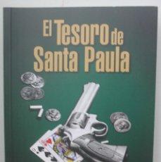 Libros de segunda mano: EL TESORO DE SANTA PAULA, FELICE CULTRERA, LEER EN EL REVERSO, CONTENIDO DEL LIBRO, FOTOGRAFIA 2 . Lote 168852356