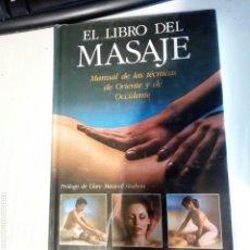 Libros de segunda mano: EL LIBRO DEL MASAJE. EN BUEN ESTADO.. Lote 168852402