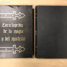 Libros de segunda mano: ENCICLOPEDIA DE LA MAGIA Y DEL MISTERIO (2 TOMOS). EDITORIAL MATEU (1969). TAPAS DURAS. ILUSTRADOS.. Lote 168853666