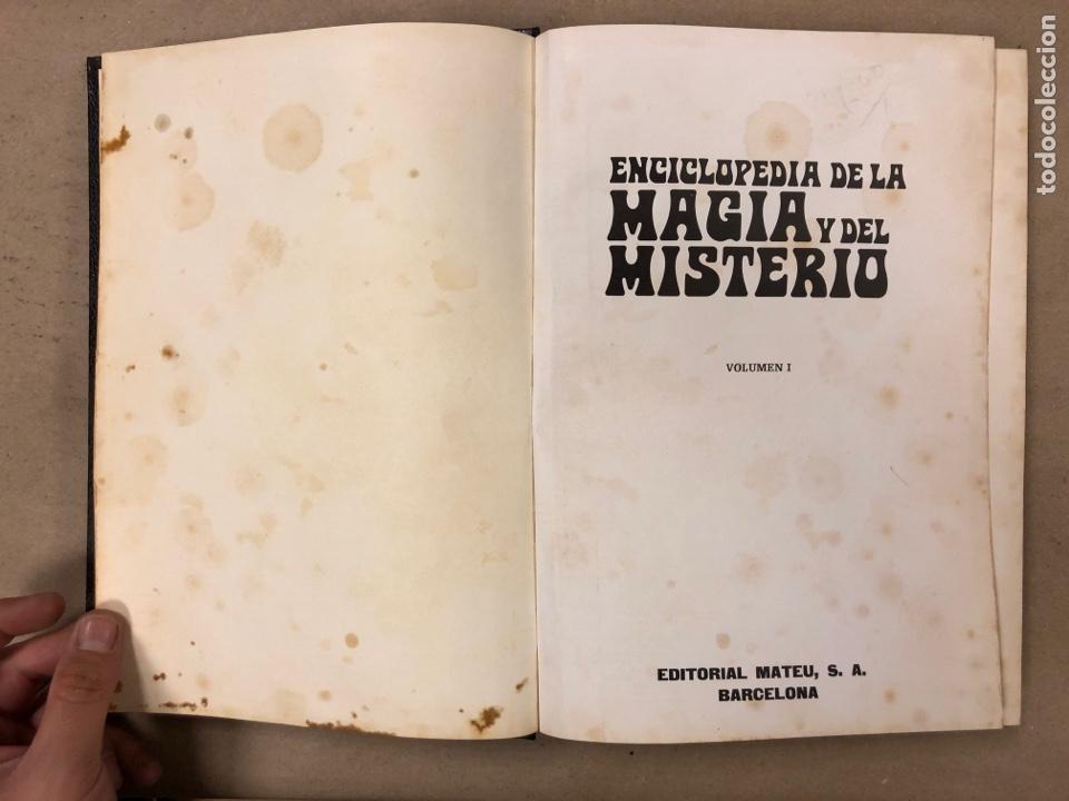 Libros de segunda mano: ENCICLOPEDIA DE LA MAGIA Y DEL MISTERIO (2 TOMOS). EDITORIAL MATEU (1969). TAPAS DURAS. ILUSTRADOS. - Foto 4 - 168853666