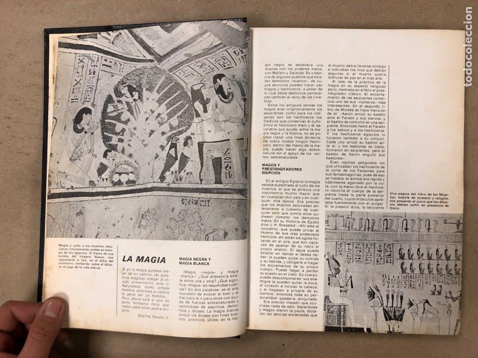 Libros de segunda mano: ENCICLOPEDIA DE LA MAGIA Y DEL MISTERIO (2 TOMOS). EDITORIAL MATEU (1969). TAPAS DURAS. ILUSTRADOS. - Foto 6 - 168853666