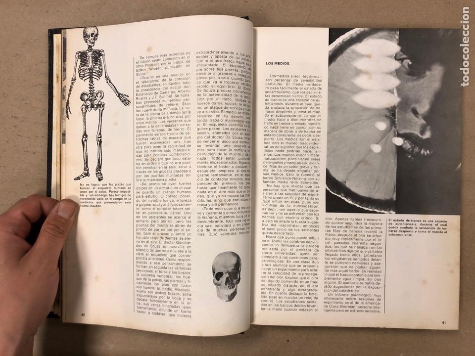 Libros de segunda mano: ENCICLOPEDIA DE LA MAGIA Y DEL MISTERIO (2 TOMOS). EDITORIAL MATEU (1969). TAPAS DURAS. ILUSTRADOS. - Foto 7 - 168853666