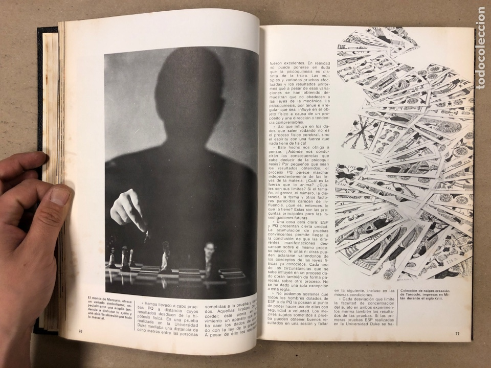 Libros de segunda mano: ENCICLOPEDIA DE LA MAGIA Y DEL MISTERIO (2 TOMOS). EDITORIAL MATEU (1969). TAPAS DURAS. ILUSTRADOS. - Foto 8 - 168853666