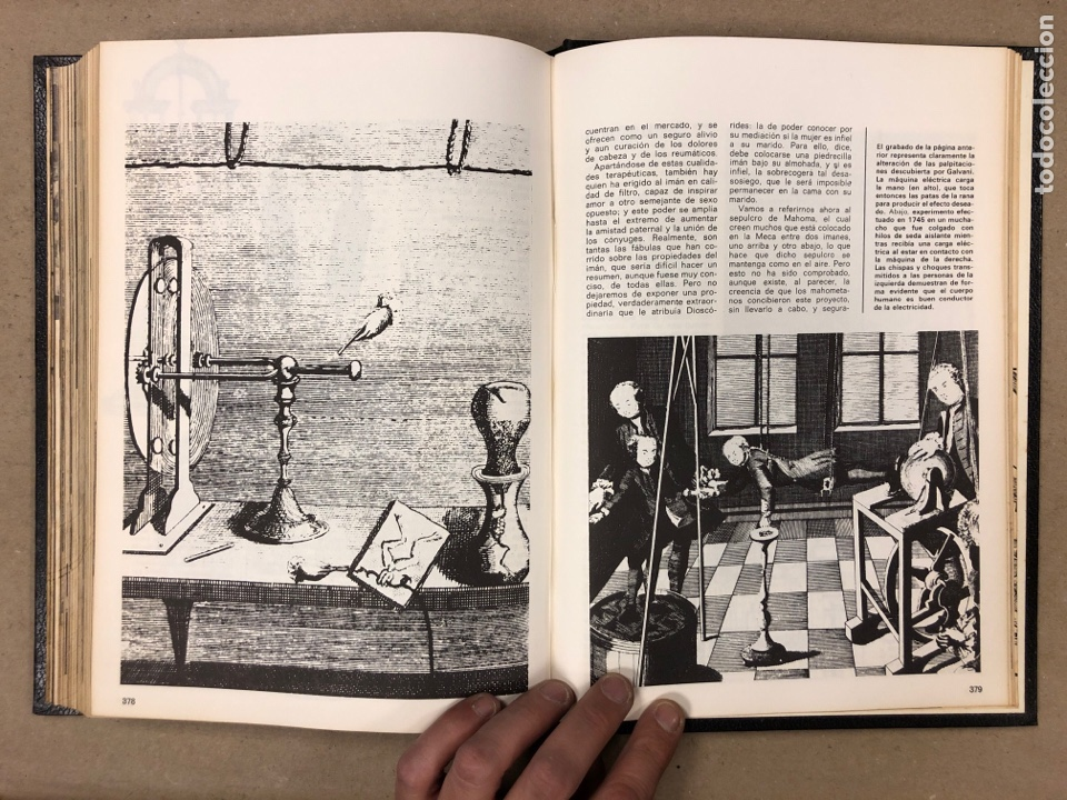 Libros de segunda mano: ENCICLOPEDIA DE LA MAGIA Y DEL MISTERIO (2 TOMOS). EDITORIAL MATEU (1969). TAPAS DURAS. ILUSTRADOS. - Foto 13 - 168853666