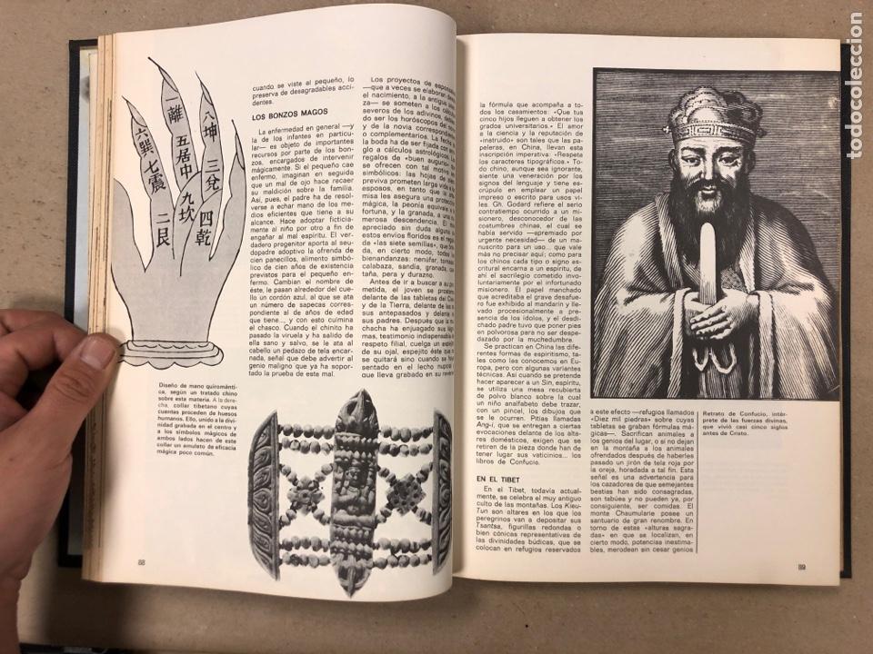 Libros de segunda mano: ENCICLOPEDIA DE LA MAGIA Y DEL MISTERIO (2 TOMOS). EDITORIAL MATEU (1969). TAPAS DURAS. ILUSTRADOS. - Foto 18 - 168853666