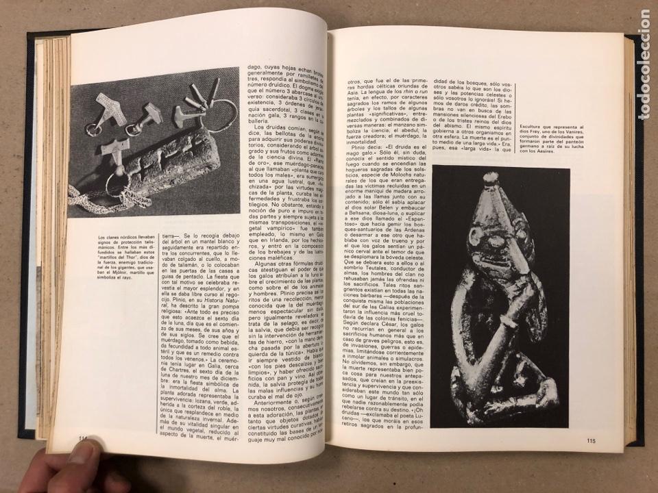Libros de segunda mano: ENCICLOPEDIA DE LA MAGIA Y DEL MISTERIO (2 TOMOS). EDITORIAL MATEU (1969). TAPAS DURAS. ILUSTRADOS. - Foto 19 - 168853666