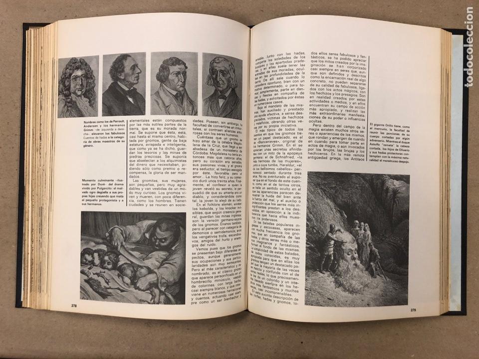 Libros de segunda mano: ENCICLOPEDIA DE LA MAGIA Y DEL MISTERIO (2 TOMOS). EDITORIAL MATEU (1969). TAPAS DURAS. ILUSTRADOS. - Foto 22 - 168853666
