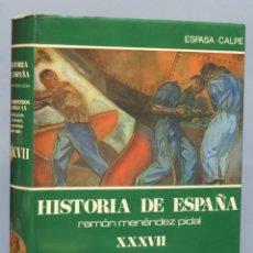 Libros de segunda mano: LOS COMIENZOS DEL SIGLO XX. POBLACION ECONOMIA Y SOCIEDAD (1898-1931). MENENDEZ PIDAL. Lote 168860852