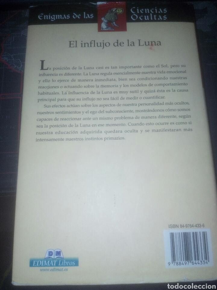 Libros de segunda mano: El influjo de la luna Carlos José Rodríguez enigmas de las ciencias ocultas - Foto 2 - 168862781