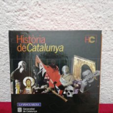 Libros de segunda mano: HISTÒRIA DE CATALUNYA. LA VANGUARDIA. 14 CD-ROM, GUÍA DE USUARIO Y ARCHIVADOR.. Lote 168934208
