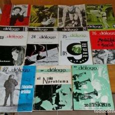 Libros de segunda mano: LOTE 11 CUADERNOS DIÁLOGO. Lote 168951956