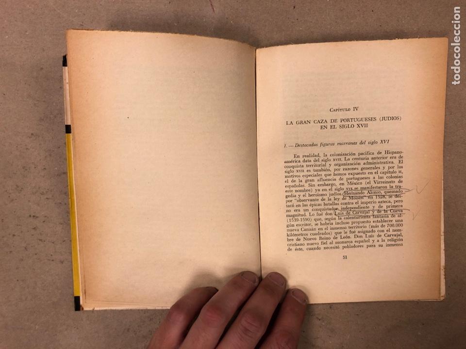 Libros de segunda mano: LOS JUDÍOS BAJO LA INQUISICIÓN EN HISPANOAMERICA. BOLESLAO LEWIN. EDITORIAL DÉDALO 1960. - Foto 5 - 168961868