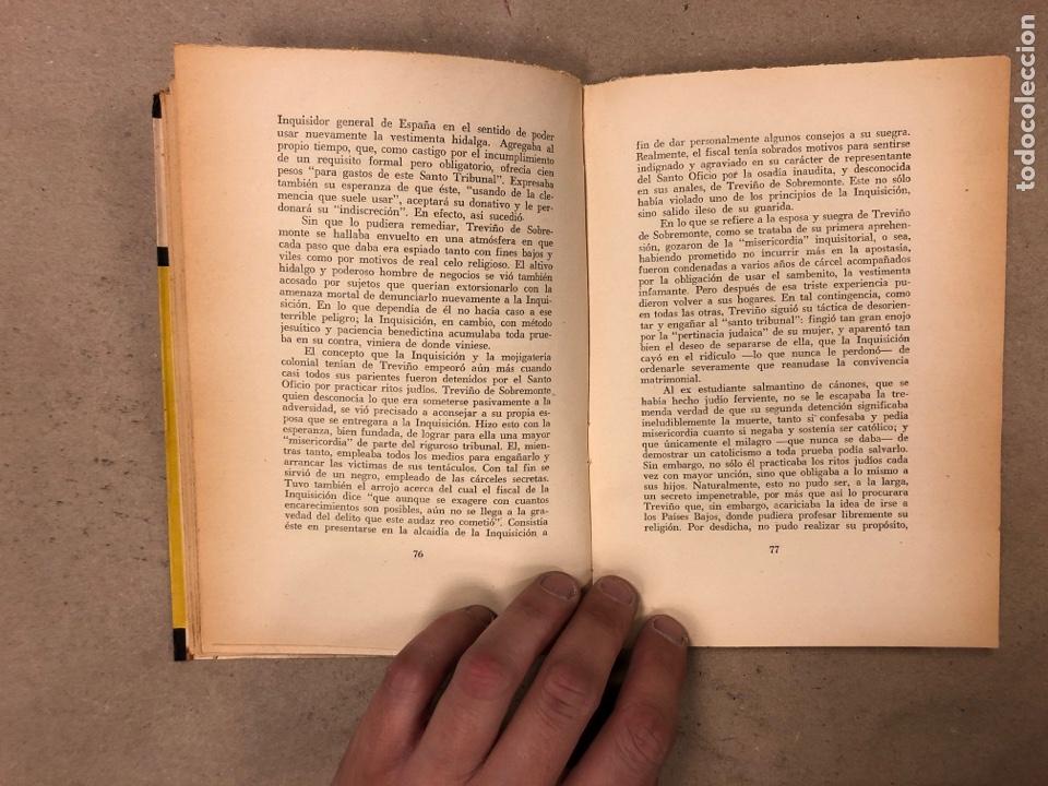 Libros de segunda mano: LOS JUDÍOS BAJO LA INQUISICIÓN EN HISPANOAMERICA. BOLESLAO LEWIN. EDITORIAL DÉDALO 1960. - Foto 6 - 168961868