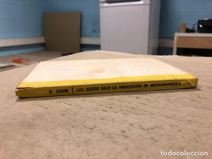 Libros de segunda mano: LOS JUDÍOS BAJO LA INQUISICIÓN EN HISPANOAMERICA. BOLESLAO LEWIN. EDITORIAL DÉDALO 1960. - Foto 9 - 168961868