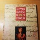 Libros de segunda mano: HISTORIA UNIVERSAL DE LA LITERATURA. EL ROMANTICISMO: INGLATERRA, ALEMANIA Y FRANCIA (ORBIS). Lote 168968444