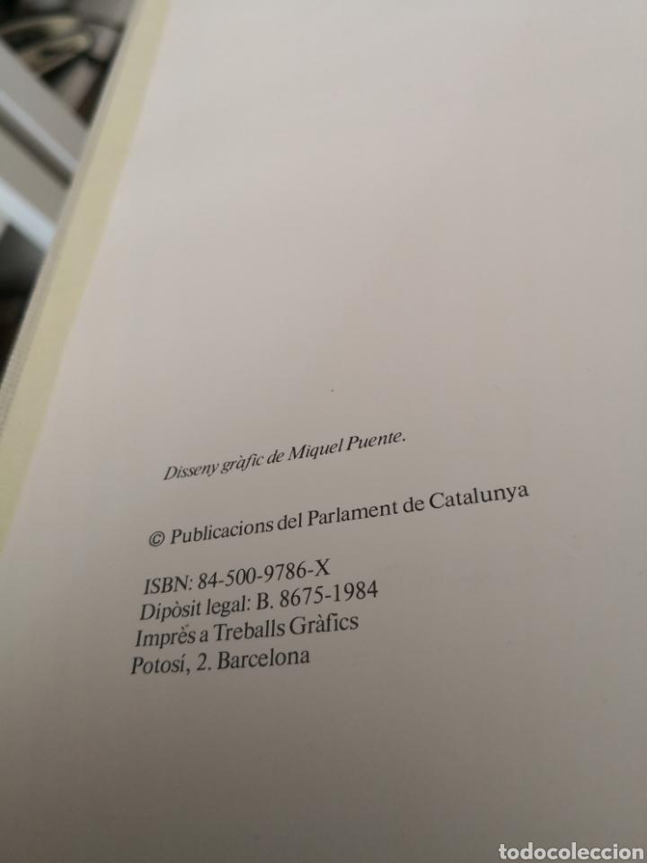Libros de segunda mano: Llibre del cinquantenari parlament de Catalunya 1984 - Foto 6 - 168986721