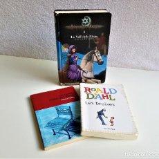 Libros de segunda mano: LOTE 3 LIBROS JUVENILES VARIOS EN CATALAN. Lote 169002052