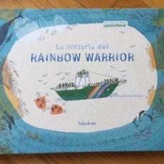 Libros de segunda mano: LA HISTORIA DEL RAINBOW WARRIOR, ROCIO MARTINEZ. Lote 221354518