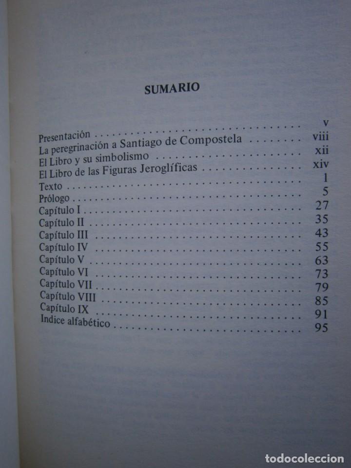 Libros de segunda mano: EL LIBRO DE LAS FIGURAS JEROGLIFICAS NICOLAS FLAMEL OBELISCO 1996 - Foto 12 - 169015996