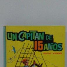Libros de segunda mano: UN CAPITÁN DE 15 AÑOS DE JULIO VERNE. EDITORIAL VASCO AMERICANA. Nº 8 EDITADO EN 1972. Lote 169029540