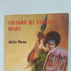 Libros de segunda mano: LOS HIJOS DEL CAPITÁN GRANT DE JULIO VERNE. EDITORIAL VILMAR SEPTIEMBRE DE 1983. Lote 169031076