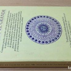 Libros de segunda mano: LOS ADMIRABLES SECRETOS DE ALBERTO EL GRANDE/ ED ALTA FULLA/ / / TEXTO 30. Lote 169045344