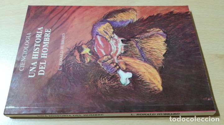 CIENCIOLOGIA UNA HISTORIA DEL HOMBRE / L RONALD HUBBARD / PUBLICACIONES DE FILOSOFIA APLICADA / (Libros de Segunda Mano - Parapsicología y Esoterismo - Otros)