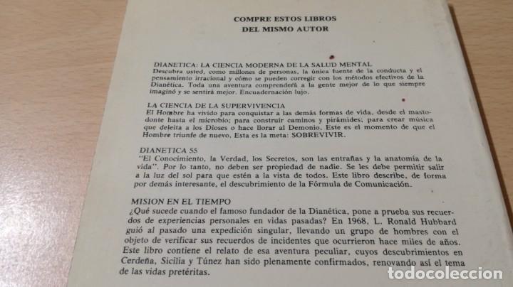 Libros de segunda mano: CIENCIOLOGIA UNA HISTORIA DEL HOMBRE / L RONALD HUBBARD / PUBLICACIONES DE FILOSOFIA APLICADA / - Foto 3 - 263219370
