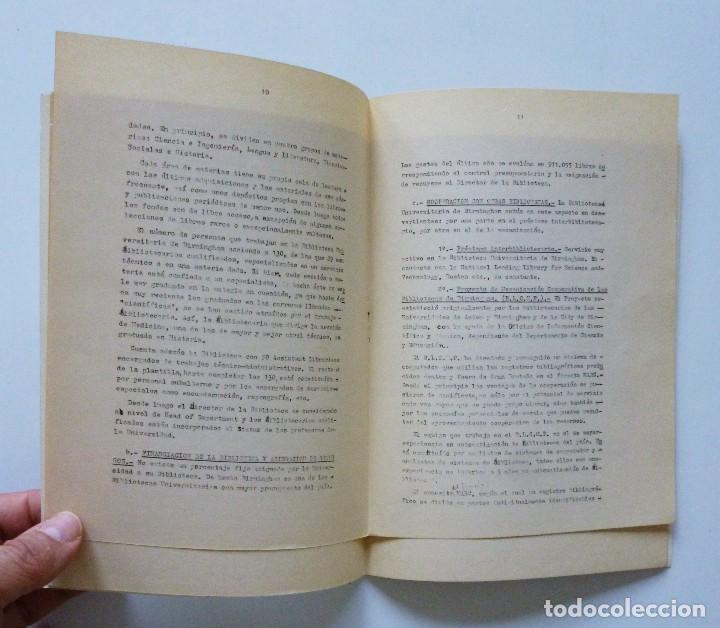 Libros de segunda mano: COMISARIA NACIONAL DE BIBLIOTECAS 1976 ESTUDIOS INFORMES Y NORMAS 1, 2, 3, 4, 5, 6, 7, 9 Y 19 - Foto 8 - 169069212