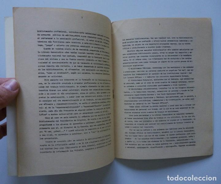 Libros de segunda mano: COMISARIA NACIONAL DE BIBLIOTECAS 1976 ESTUDIOS INFORMES Y NORMAS 1, 2, 3, 4, 5, 6, 7, 9 Y 19 - Foto 10 - 169069212
