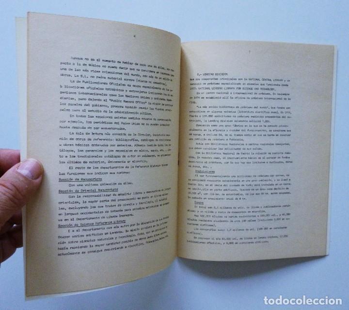 Libros de segunda mano: COMISARIA NACIONAL DE BIBLIOTECAS 1976 ESTUDIOS INFORMES Y NORMAS 1, 2, 3, 4, 5, 6, 7, 9 Y 19 - Foto 12 - 169069212