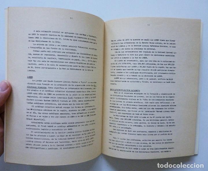 Libros de segunda mano: COMISARIA NACIONAL DE BIBLIOTECAS 1976 ESTUDIOS INFORMES Y NORMAS 1, 2, 3, 4, 5, 6, 7, 9 Y 19 - Foto 14 - 169069212